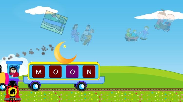 Trivial Missing Letters for Kindergarten