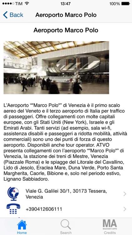 Venice & Veneto Tourism by Bus screenshot-3
