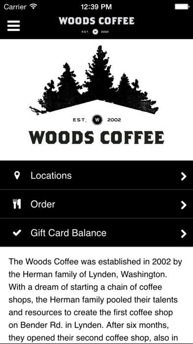 The Woods CoffeeScreenshot of 1
