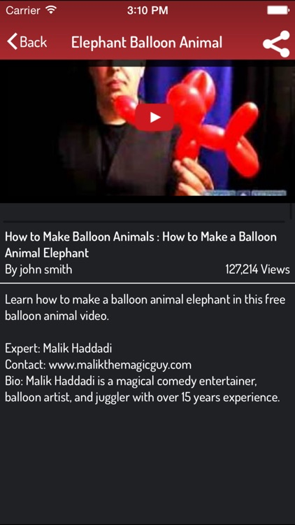 Balloon Animal Making - Ultimate Video Guide