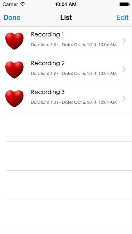 iBabyBeats - Baby Heart Monitor screenshot-3