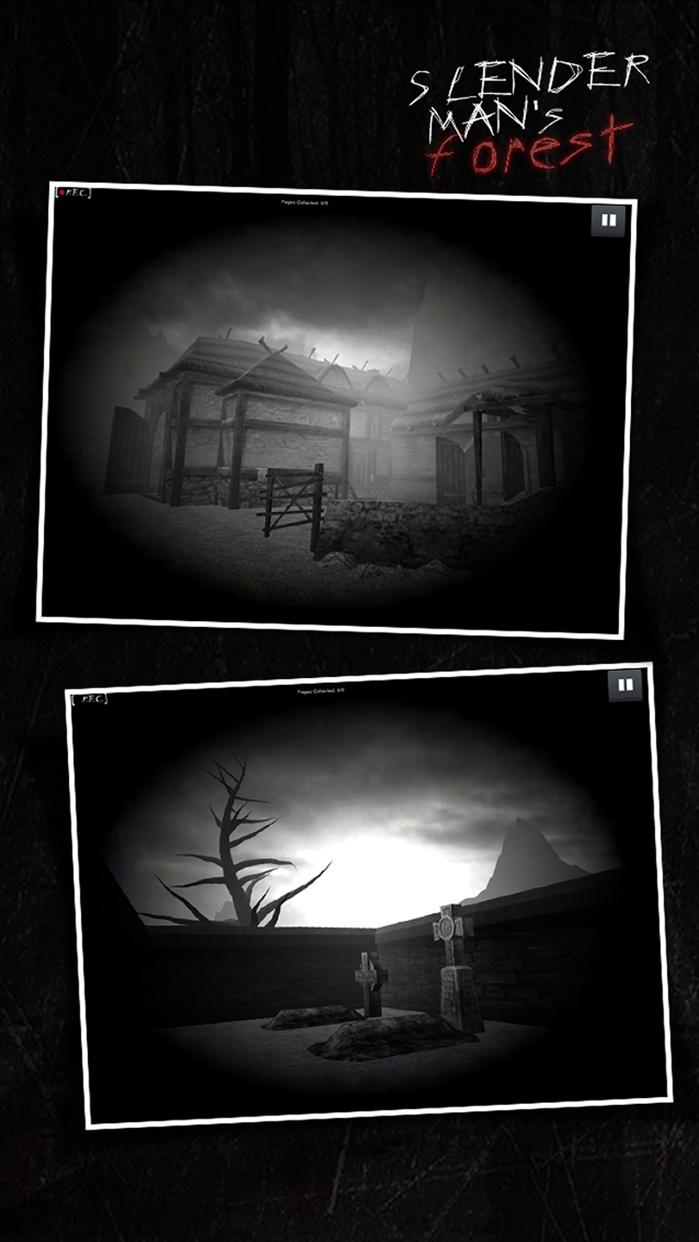 SlenderMan's Forest Screenshot