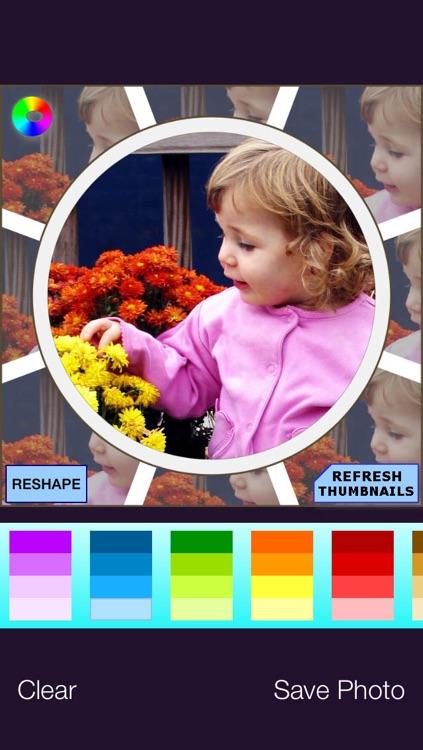 Frameo - circle photo, circle frames & more screenshot-4