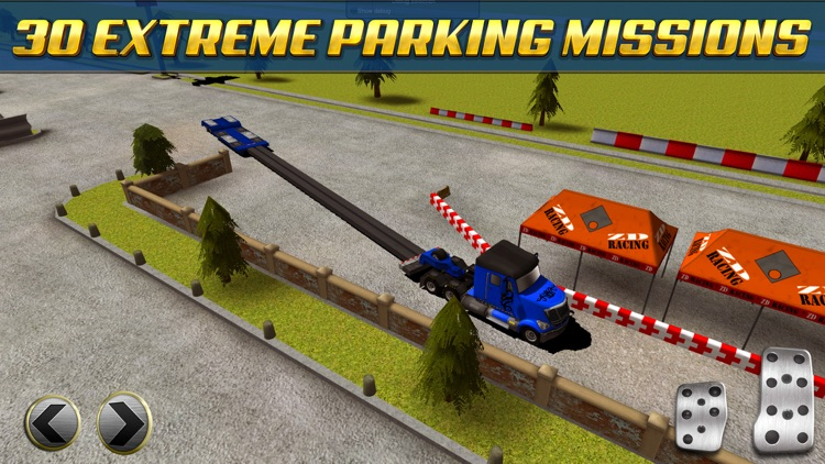 Extreme Truck Parking Simulator Game - Real Big Monster Car Driving Test Sim Racing Games screenshot-3