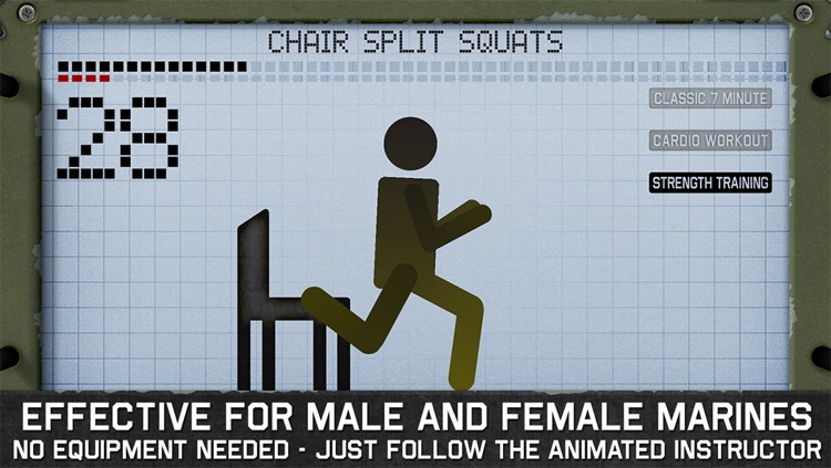 7 Minute Workout - Marines Survival Edition screenshot-4
