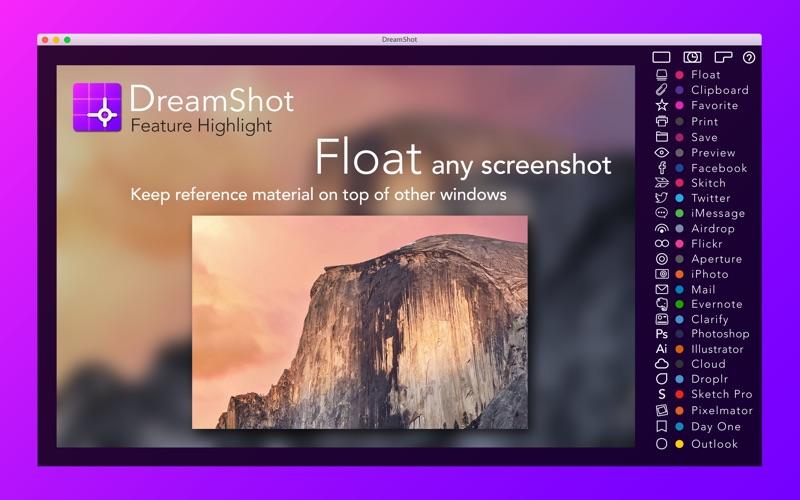 Screenshot #2 for DreamShot: Screenshot Shortcut