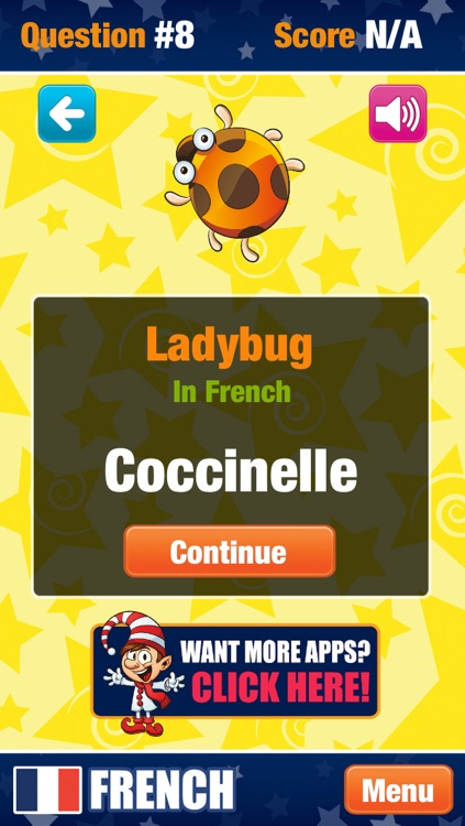 Learn French Game screenshot-3