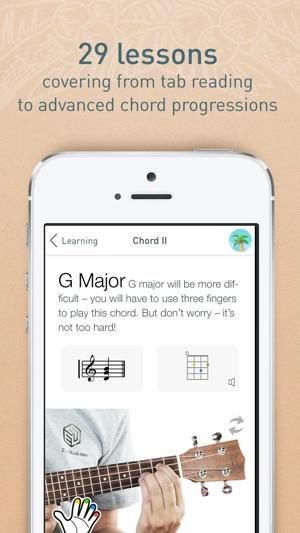 Uke101 Ukulele Lessons Tracks And Games For Beginners On The App