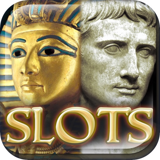 A Slots of Egypt vs Rome (Lucky Pharaohs Free Blackjack & Roulette Casino) - Fun Slot Machine Games