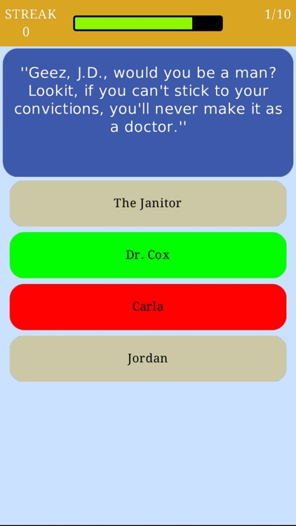 Trivia for Scrubs - Fan Quiz for the television series screenshot-3
