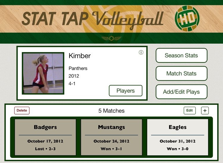 Stat Tap Volleyball HD