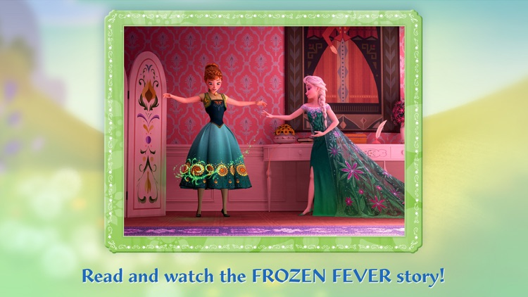 Frozen: Storybook Deluxe - Now with Frozen Fever! screenshot-1