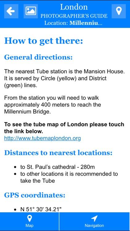 London Photographers Guide screenshot-4