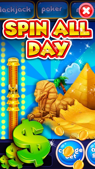All Slots Casino Pharaoh's Fire - Journey Way Of Caesars Fortune To Hit It Rich In Old Vegas! screenshot three