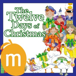 The Twelve Days Of Christmas - Read along interactive Christmas eBook, songbook for Kids, Parents and Teachers