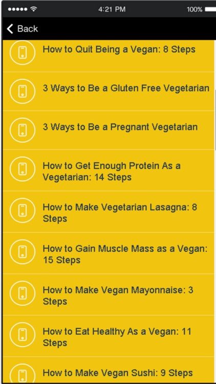Easy Vegetarian Recipes - Easy & Simple Meals screenshot-1