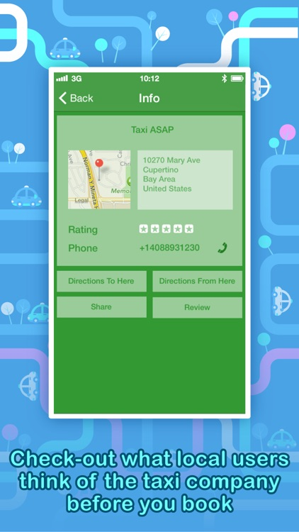Call a Taxi PRO - Instantly find a taxi-cab, anytime, anywhere. screenshot-3