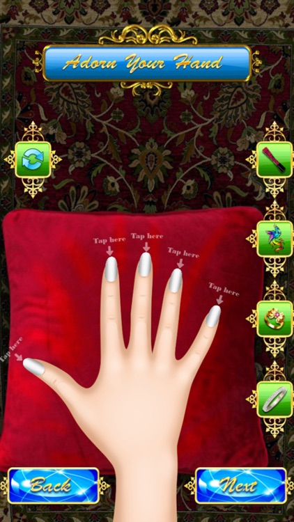 Princess Nail Art Salon Manicure Game For Girls By Stefano Frassi