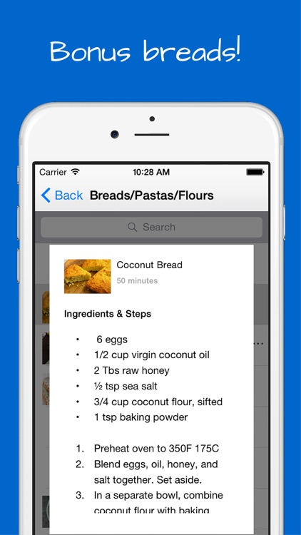Paleo Desserts Recipes + bonus diet cookies, breads, flour, pasta, drinks and smoothies. screenshot-4