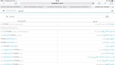Screenshot for arabdict Dictionary in Germany App Store