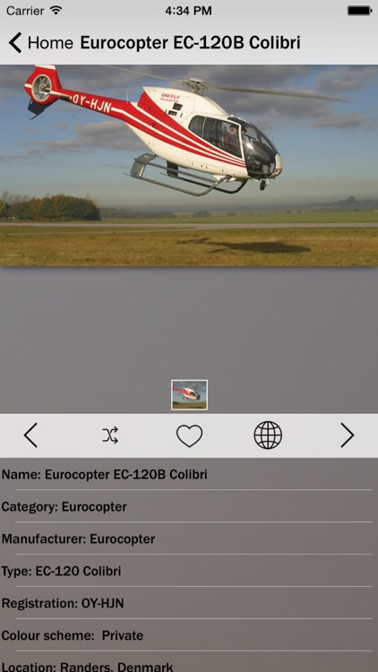 Eurocopter Info screenshot-1