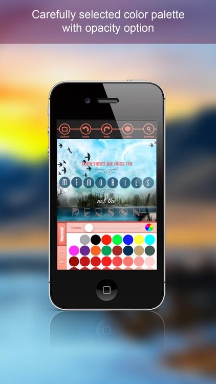 inStatus - A creative editor making your photos gorgeous screenshot-3