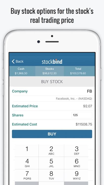 StockBind - Virtual Stock Trading Game