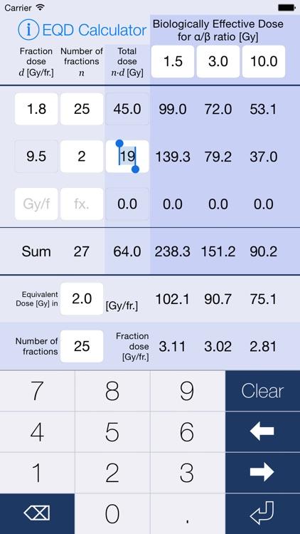 EQD Calculator screenshot-0