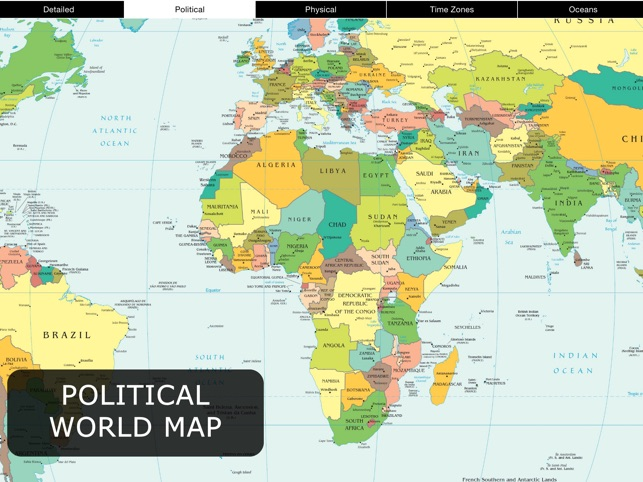 World Map for iPad FREE on the App Store