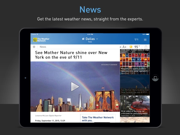 The Weather Network for iPad screenshot-3