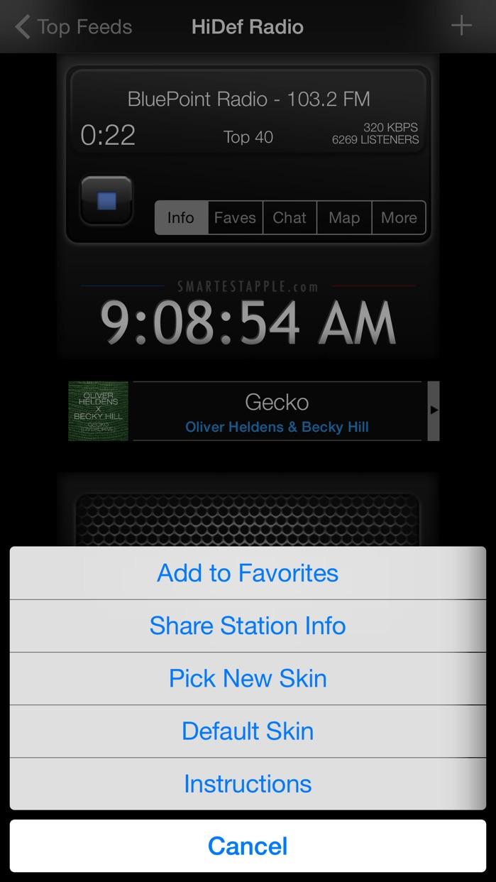 HiDef Radio - Free News & Music Stations Screenshot