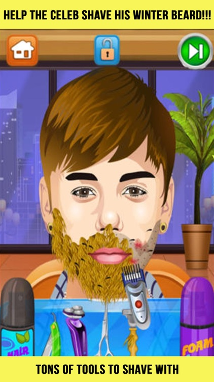 Celebrity Shave Beard Makeover Salon & Spa - hair doctor girls games for kids