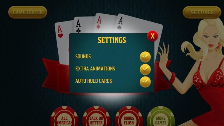 Video Poker - Tournament Style Casino App - Play for Free screenshot-4