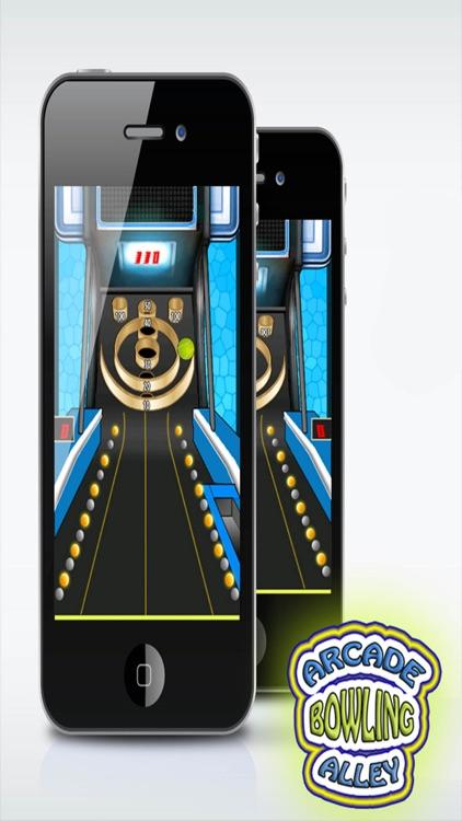 Arcade Bowling Alley: Drop Skee Ball in Hoops - Unbeatable Target
