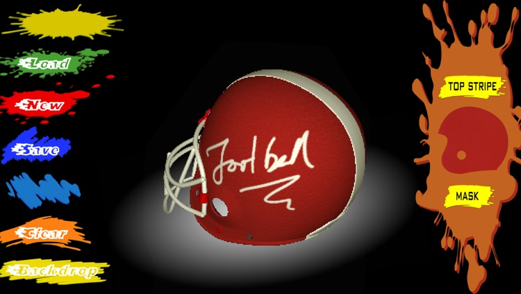 Football Helmet 3D - Design your helmet decals screenshot-4