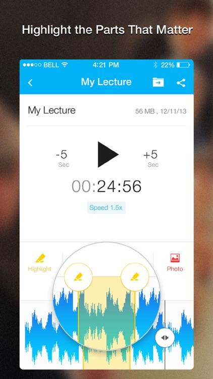 Recordium Pro - voice recorder, record memos and note taking screenshot-4