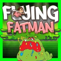 Flappy Flying Fatman in slimy dragon world