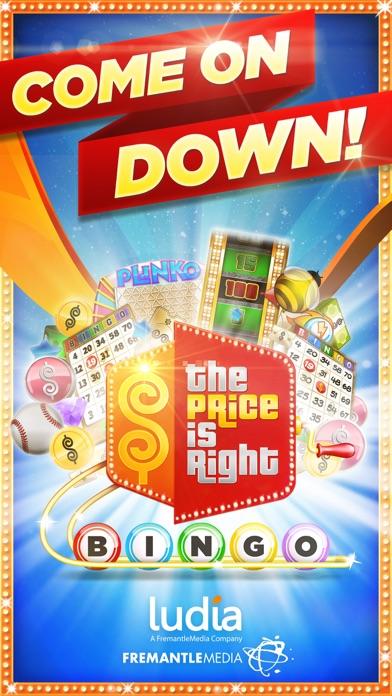price is right bingo app