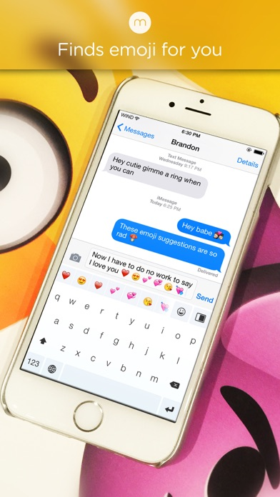 Minuum - The Little Keyboard for Big Fingers: Now with Smart Emojiのおすすめ画像1