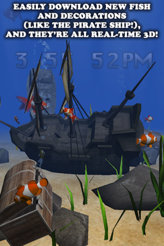 my Fish 3D Virtual Aquarium (Gold Edition) screenshot 2