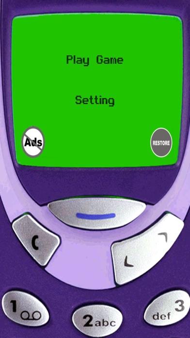 Classic Snake - Retro Game screenshot one