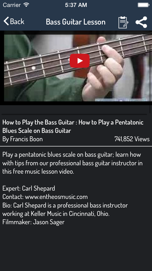 Guitar Learning Guide - Learn Guitar Step By Step screenshot three