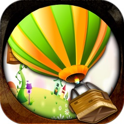 Hot Air Balloon - Crazy Wind Action