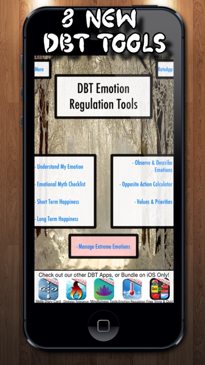 DBT Emotion Regulation Tools