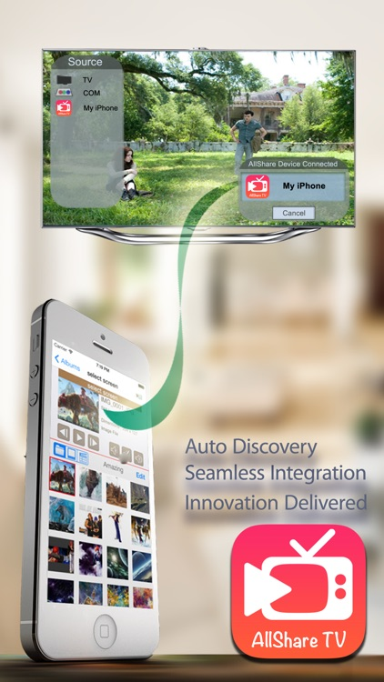 AllShare TV - Media Server with SmartTV Connect