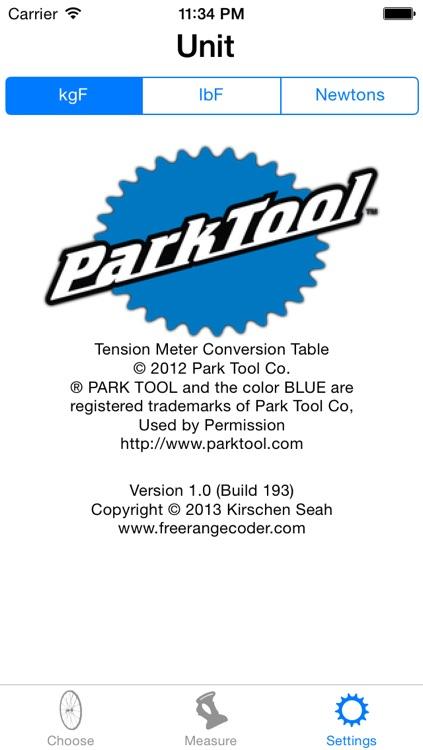 Park Tool Tension Meter screenshot-3