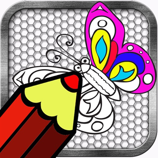 Coloring Book Butterflies