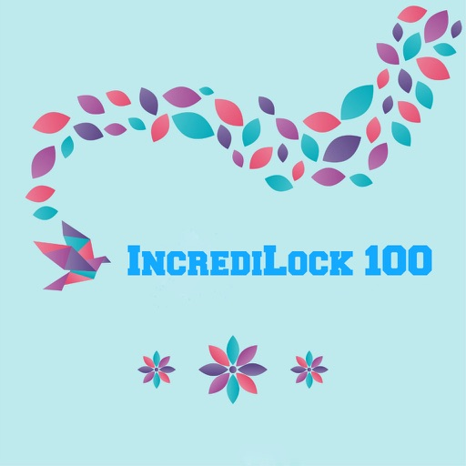 IncrediLock 100 - Beautiful and Fancy Abstract Backgrounds