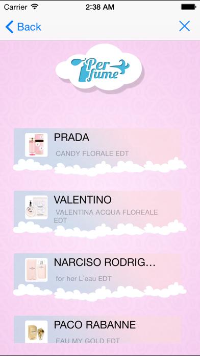 Perfumepedia screenshot