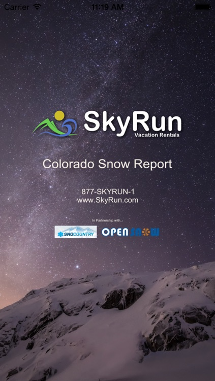 Colorado Snow Report
